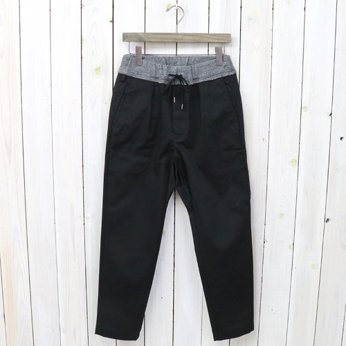 『ASSEMBLY EZ TROUSERS』(BLACK)