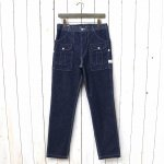 SASSAFRAS『BOTANICAL SCOUT PANTS(10oz DENIM)』(INDIGO)
