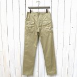 SASSAFRAS『BOTANICAL SCOUT PANTS(WEST POINT)』(BEIGE)