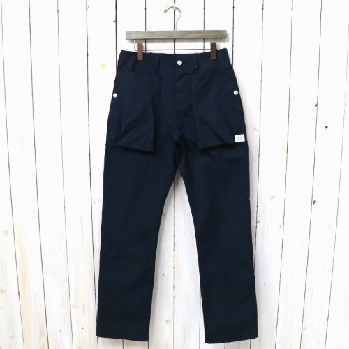 SASSAFRAS『DIGS CREW PANTS(C/N OXFORD)』(NAVY)