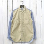 【SALE特価45%off】orSlow『VINTAGE FIT WORK SHIRTS』(CHINO×HICKORY)