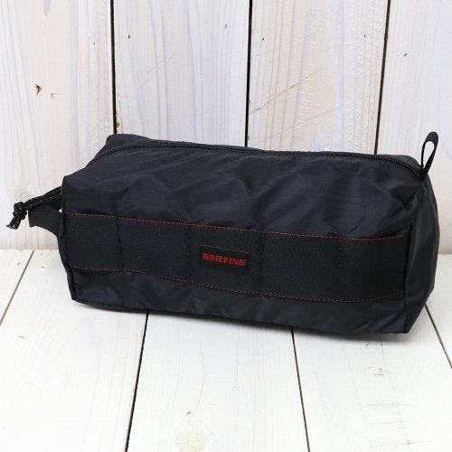 『BOX POUCH M SL』(BLACK)