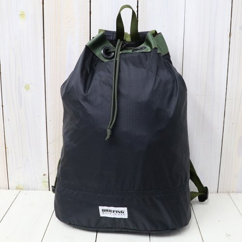 『70D RIPSTOP DRAWSTRING PACK』(BLACK)