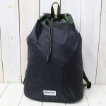 BRIEFING『70D RIPSTOP DRAWSTRING PACK』(BLACK)