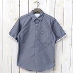 nanamica『Wind H/S Shirt』(Navy)