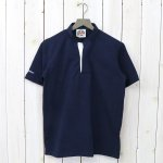 BARBARIAN『8oz HENLY NECK S/S』(NAVY)