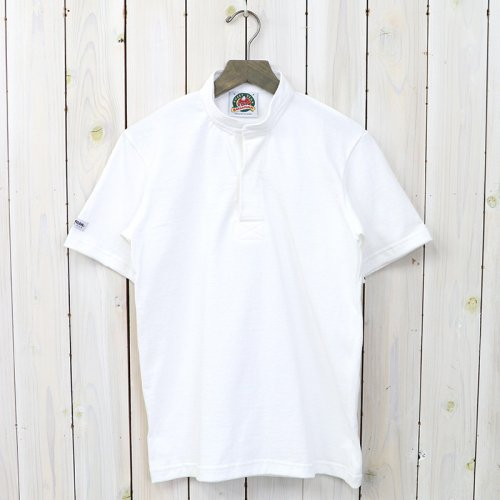 『8oz HENLY NECK S/S』(WHITE)