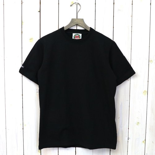 『8oz CREW NECK S/S』(BLACK)