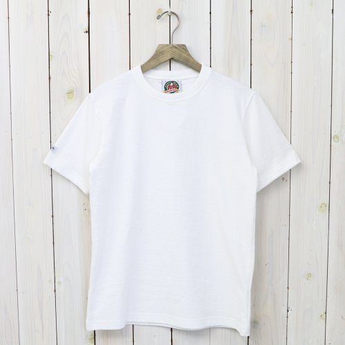 『8oz CREW NECK S/S』(WHITE)