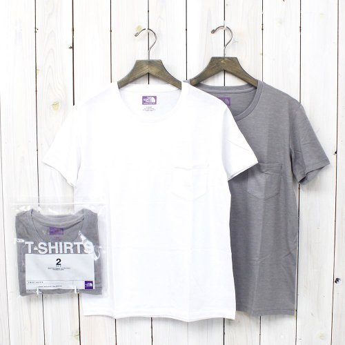 『COOLMAX® Pack Tee』(White×Mix Gray)