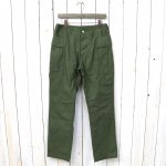 SASSAFRAS『ROOTER PAD PANTS(RIPSTOP)』(OLIVE)