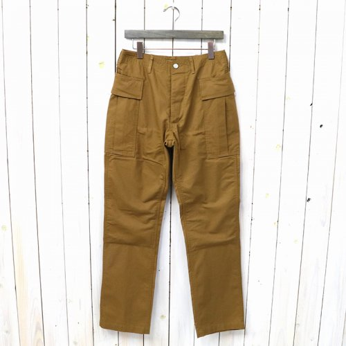 『ROOTER PAD PANTS(OXFORD)』(BROWN)