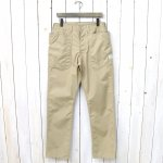 SASSAFRAS『FALL LEAF PANTS(T/C WEATHER)』(BEIGE)