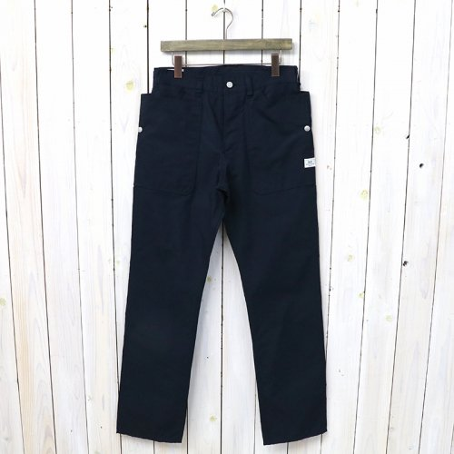 『FALL LEAF PANTS(C/N OXFORD)』(NAVY)