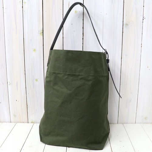 『ARMY DUCK- ONE-STRAP SHOULDER L』(OLIVE)