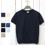 Goodwear『CREW-NECK S/S POCKET-T with CUFF AND HEM RIB』