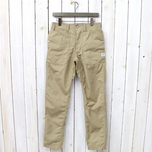 『FALL LEAF SPRAYER PANTS(T/C WEATHER)』(BEIGE)