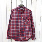 SASSAFRAS『GREEN THUMB SHIRT-C/L』(RED)
