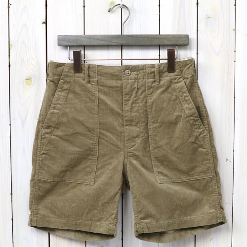 『Fatigue Short-14W Corduroy』(Lt.Brown)