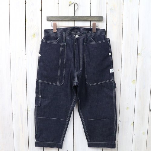 『FALL LEAF GARDENER PANTS 2/3(8oz DENIM)』(INDIGO)