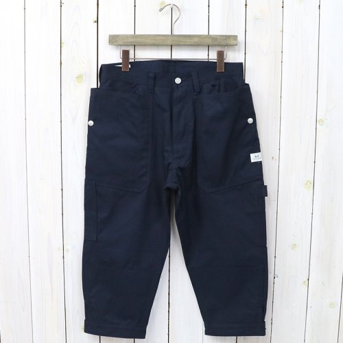 『FALL LEAF GARDENER PANTS 2/3(VENTILE OXFORD)』(NAVY)