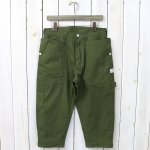 SASSAFRAS『FALL LEAF GARDENER PANTS 2/3(VENTILE OXFORD)』(OLIVE)