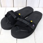 Suicoke×NEPENTHES Purple Label『Slide-In Sandal w/A-B Vibram-Neoprene』(Black)
