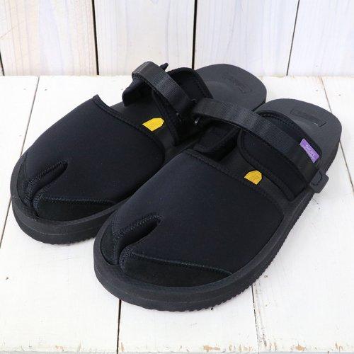 Suicoke×NEPENTHES Purple Label『Split Toe Sandal w/A-B Vibram-Neoprene』(Black)