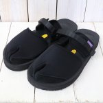 Suicoke×NEPENTHES Purple Label『Split Toe Sandal w/A-B Vibram-Neoprene』(Black)