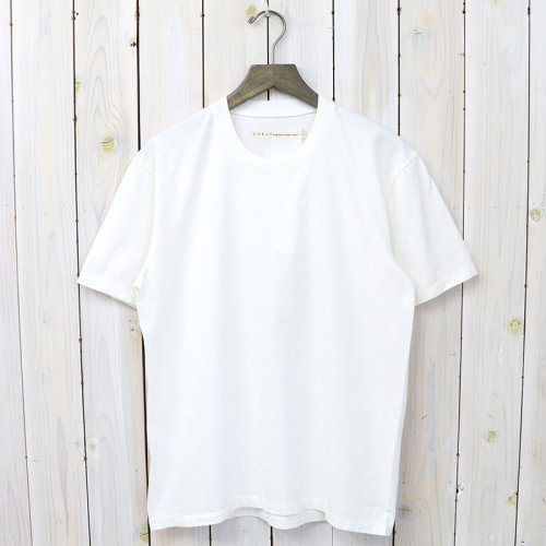 『HELICAL SS TEE』(WHITE)