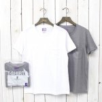 THE NORTH FACE PURPLE LABEL『COOLMAX® Pack Tee』(White×Mix Gray)