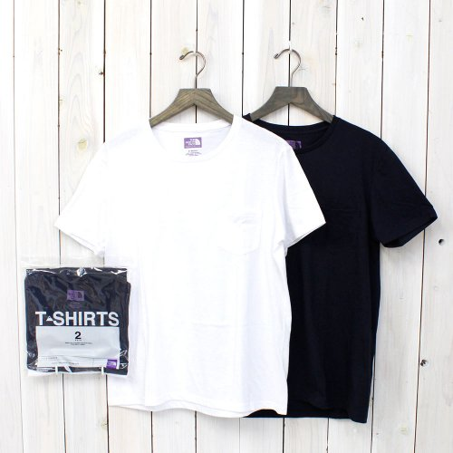『COOLMAX® Pack Tee』(White×Navy)