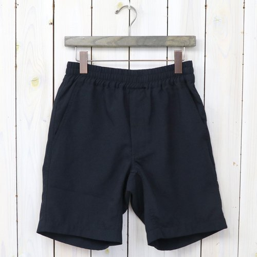 『Polyester Tropical Shorts』(Navy)