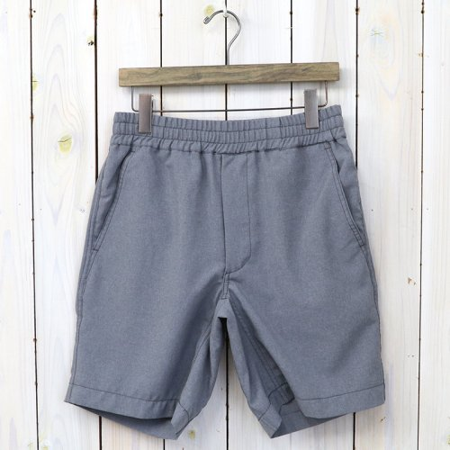 『Polyester Tropical Shorts』(Light Gray)