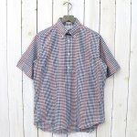 【SALE特価45%off】INDIVIDUALIZED SHIRTS『CHECK(PULL OVER S/S)』(NAVY/RED/WHITE)