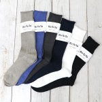 RoToTo『LINEN COTTON RIB SOCKS』