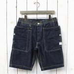 SASSAFRAS『FALL LEAF SPRAYER PANTS 1/2』(INDIGO)