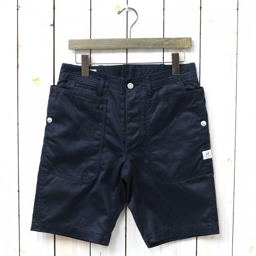 『FALL LEAF SPRAYER PANTS 1/2(WEST POINT)』(NAVY)