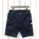 SASSAFRAS『FALL LEAF SPRAYER PANTS 1/2(WEST POINT)』(NAVY)