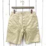 SASSAFRAS『FALL LEAF SPRAYER PANTS 1/2(WEST POINT)』(BEIGE)