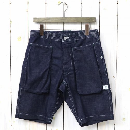 『DIGS CREW PANTS 1/2(8oz DENIM)』(INDIGO)