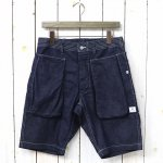 SASSAFRAS『DIGS CREW PANTS 1/2(8oz DENIM)』(INDIGO)