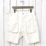 SASSAFRAS『DIGS CREW PANTS 1/2(8oz DRILL)』(NATURAL)