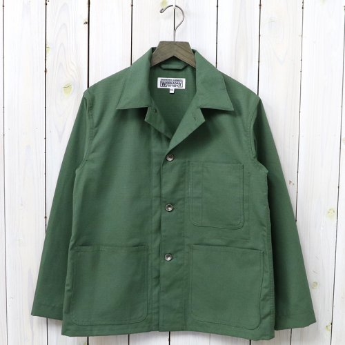 『Utility Jacket-Cotton Ripstop』(Olive)