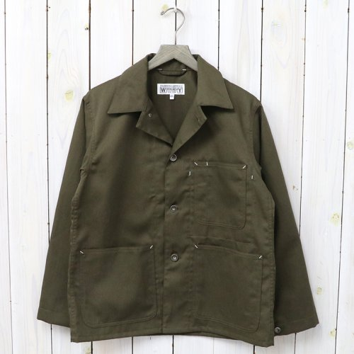 『Utility Jacket-Bedford Cord』(Olive)