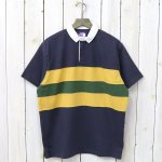 THE NORTH FACE PURPLE LABEL『H/S Big Rugby Shirt』(Navy)