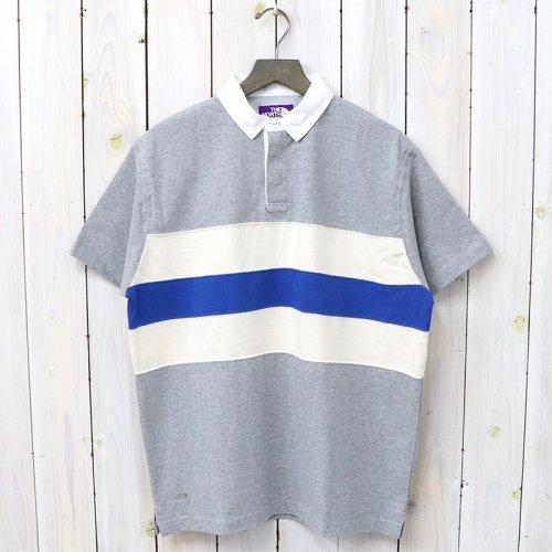 『H/S Big Rugby Shirt』(Mix Gray)