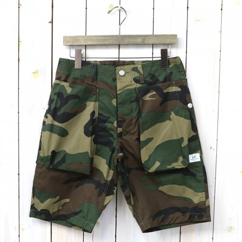 『DIGS CREW PANTS 1/2(WEEDS POPLIN)』(WOODLAND)