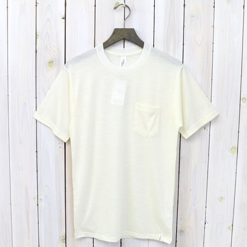【SALE特価50%off】GOOD & WOOLEN『S/S POCKET TEE』(OFF WHITE)