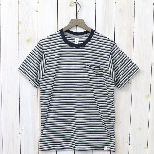 『S/S POCKET TEE』(BORDER A)